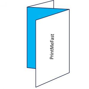 PrintMeFast Printed Leaflet Z fold